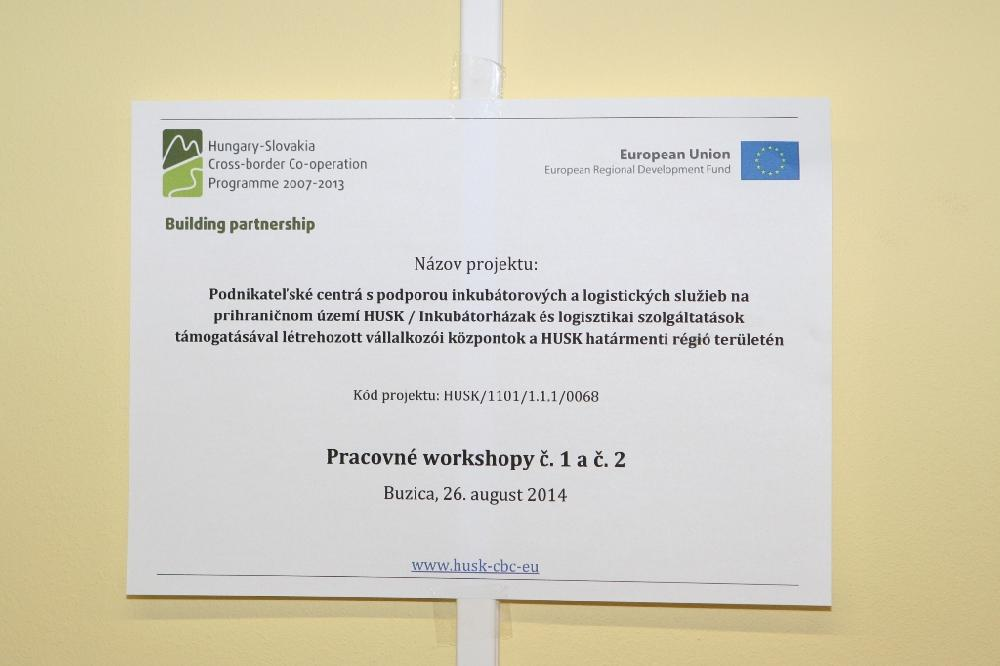 2. workshop - 26.08.2014